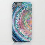 Pink And Turquoise Manda… iPhone 6 Slim Case