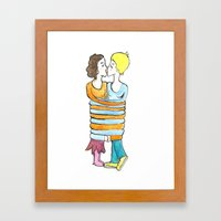 hold me tight Framed Art Print