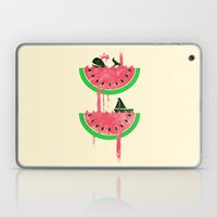 Watermelon falls Final Laptop & iPad Skin
