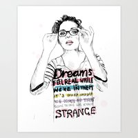 Marion Cotillard Art Print