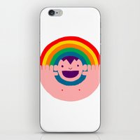 Rainbow Kid iPhone & iPod Skin