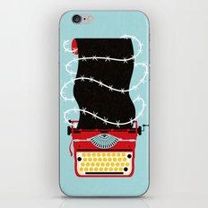 Typer Write iPhone & iPod Skin