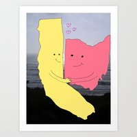 True Love.... Art Print