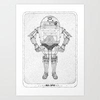 R2 3PO Art Print