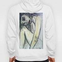NUDE IN DEEP THOUGHTS Hoody