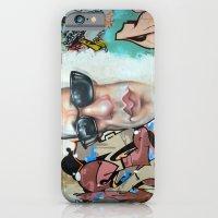 Sunglasses Graffiti iPhone 6 Slim Case