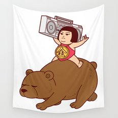 Boombox Kintaro -remake version- Wall Tapestry