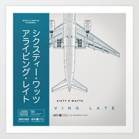 Arriving Late - Variant Art Print