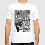 Apollonia Saintclair 534… Mens Fitted Tee White SMALL