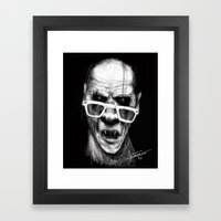 Van Ampire Framed Art Print