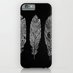 Patterned Plumes - White Slim Case iPhone 6s