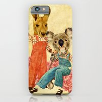 iPhone & iPod Case featuring Australia Icon: The Nation by Nani Puspasari