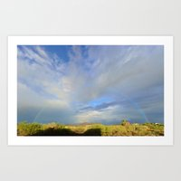 Oct 6, 2015 Rainbow Over… Art Print