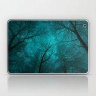 Simply Stare Upward (Dar… Laptop & iPad Skin