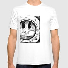 The Look Mens Fitted Tee SMALL White
