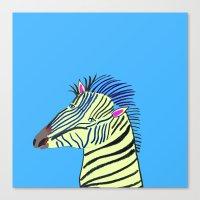 Zebra. Canvas Print
