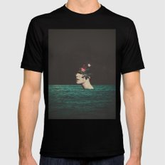 4 AM SMALL Black Mens Fitted Tee