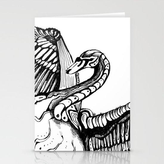 Swan Stationery Card