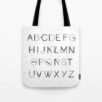 Craft Font Tote Bag