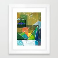 Irides Framed Art Print