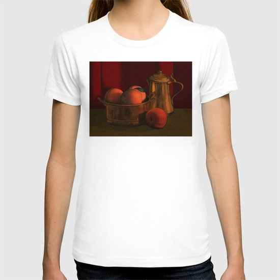 Still life with peaches T-shirt