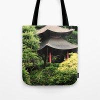 Garden Tempel Tote Bag
