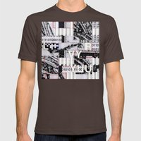 PD3: GCSD41 Mens Fitted Tee Brown SMALL