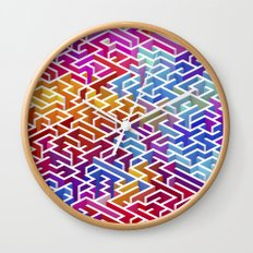 Labyrinth II Wall Clock