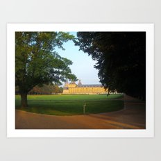 bonn university & hofgarten. Art Print