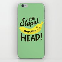 Banana Head iPhone & iPod Skin
