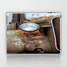 Vintage headlight Laptop & iPad Skin