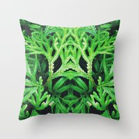 50 Shades of Green (4) Throw Pillow