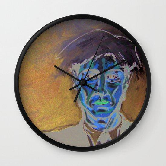 andy warhol 01 Wall Clock
