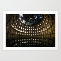 An abandoned beauty Art Print