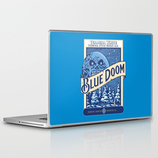 Blue Doom Laptop & iPad Skin