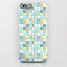 Pastel Squares iPhone 6 Slim Case