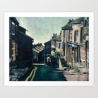 Haworth, England Art Print