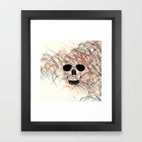 Modern Death Framed Art Print