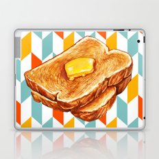 Buttered Toast Laptop & iPad Skin