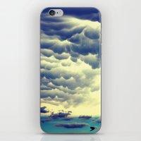 Mammatus Clouds II iPhone & iPod Skin