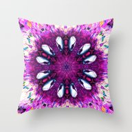 Throw Pillow featuring Fuck The Kids, Listen To… by Instantgaram