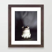 Froggie Framed Art Print