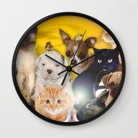 Coexisting Wall Clock