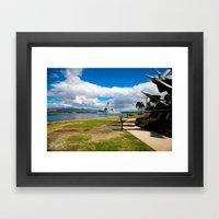 Navy Ship 1 Framed Art Print