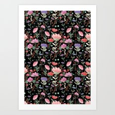 Wilderness Pattern Art Print