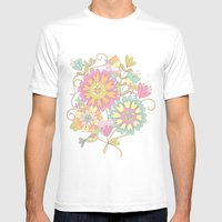 Lily & May Mens Fitted Tee White SMALL