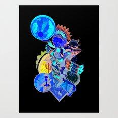 Captain Sundance - The Night Draws In Art Print