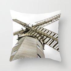 Upminster Windmill Throw Pillow