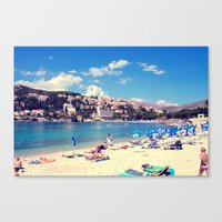 ADRIATIC SUMMER Canvas Print