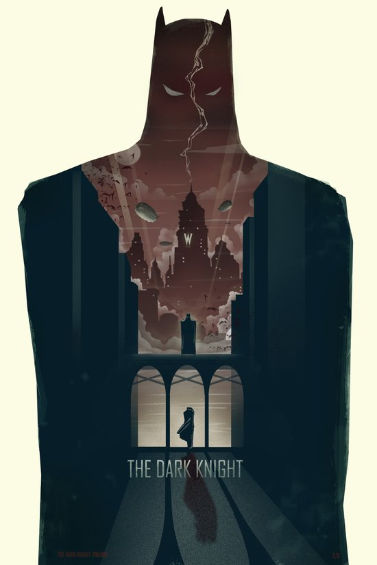 The Dark Knight Art Print